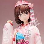 Saekano: How to Raise a Boring Girlfriend Megumi Kato Kimono Ver. 1/8 Scale Figure