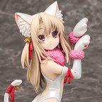 Fate/Kaleid Liner Prisma Illya 2wei Herz! Illya: Beast Style -Snow White- 1/8 Scale Figure
