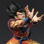 Dragon Ball Z Son Goku Super Kamehameha Figure: Premium Color Edition