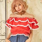Swankiss Frilly Rococo Top