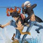Figuarts Zero One Piece Monkey D. Luffy & Trafalgar Law -5th Anniversary Edition-