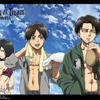 Attack on Titan - Fitness Group Wall Scroll