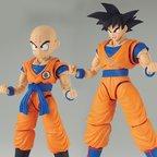 Figure-rise Standard Dragon Ball Z Son Goku & Krillin DX Set