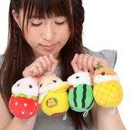 Coroham Coron Fruits Hamster Plush Collection (Ball Chain)
