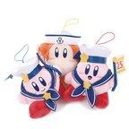 Kirby 25th Anniversary Bon Voyage Mascot Plush Collection