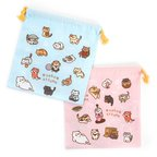 Neko Atsume Drawstring Bag 3