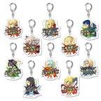 Fate/Grand Order Noble Phantasm Command Cards Trading Acrylic Keychain Box Set