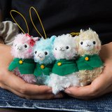 Advance! Alpacasso Corps Alpaca Plush Collection (Mini Strap)