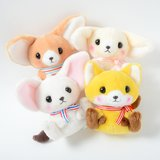 Feneky the Fennec Fox Stripe Plush Collection (Standard)