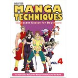 Manga Techniques Vol. 4: Character Design for Beginners