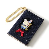 Sentimental Circus Temaneki Kagee no Alice Book-Shaped Coin Pouch & Pass Case