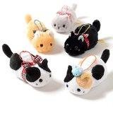 Tsuchineko Mofu Mofu Cat Plush Collection (Ball Chain)