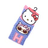Hello Kitty w/ Headband Polka Dot Knee Socks