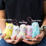 Alpacasso Rainbow Alpaca Plush Collection (Mini Strap)