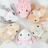 Pote Usa Loppy Fur Collar Rabbit Plush Collection (Standard)