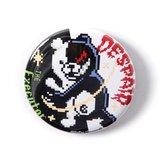 LISTEN FLAVOR Danganronpa 8-Bit Monokuma Badge