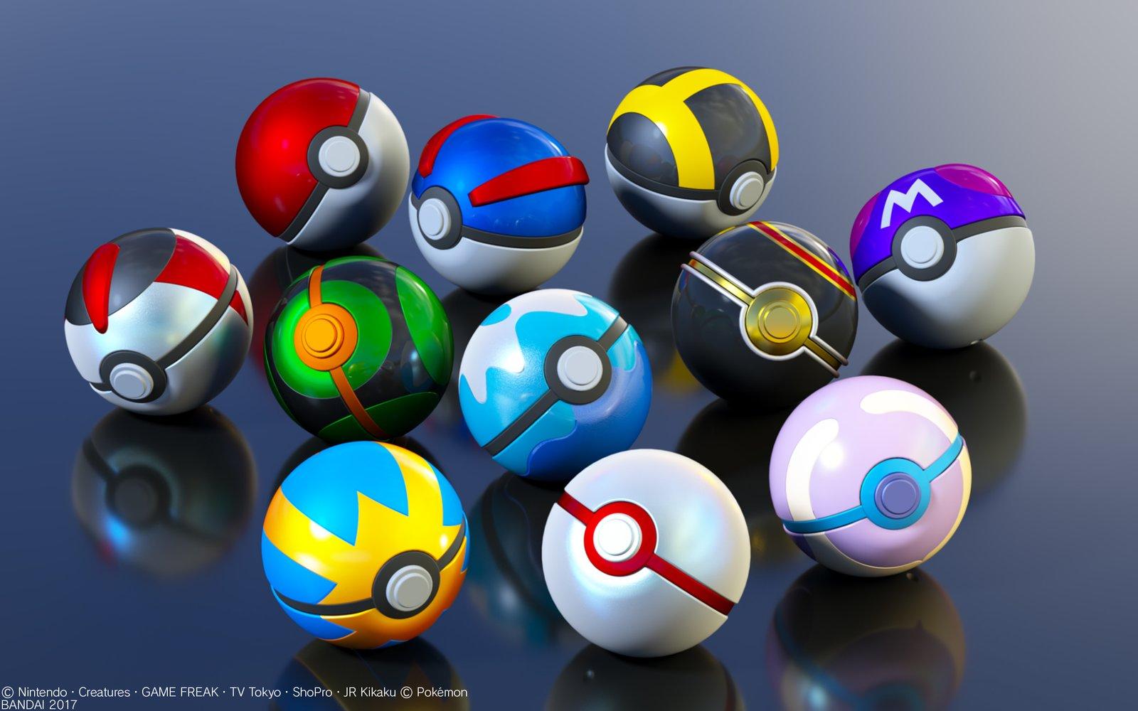 Become A Pokeacutemon Master With Bandaiaposs Pokeacute Ball Collection