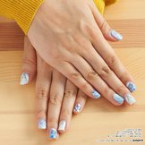 Tokyo Otaku Mode Nail Collection - Hatsune Miku's SNOW MIKU 2014 Design Collaboration
