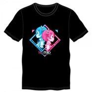 Re:Zero -Starting Life in Another World- Men's Black T-Shirt
