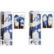 Friendly Cat Chopstick & Chopstick Rest Set