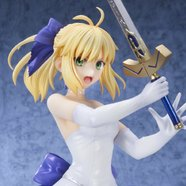 Fate stay/night: UBW Saber White Dress Ver. 1/8 Scale Figure