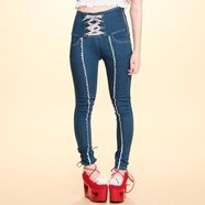 Swankiss Laced Long Pants