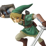 Ultra Detail Figure Legend of Zelda: Twilight Princess HD Link