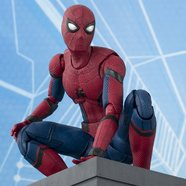 S.H.Figuarts Spider-Man: Homecoming & Tamashii Option Act Wall
