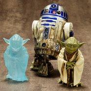 ArtFX+ Star Wars Yoda & R2-D2 Dagobah 2-Pack