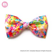 6%DOKIDOKI Colorful Rebellion Big Ribbon Clip & Brooch