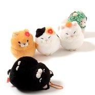 Hige Manjyu Fuku Cat Plush Collection (Ball Chain)