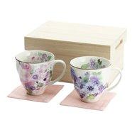 Hana Kobo Mino Ware Cup & Coaster Set