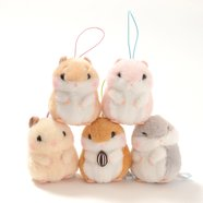 Coroham Coron Yukai na Nakama Hamster Plush Collection (Mini Strap)