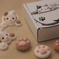 picture of Marshmallow Shop Yawahada Creates Cat-Inspired Marshmallows! 2
