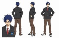 Ryugasaki Rei © Oji Koji, Kyoto Animation Co., Ltd. / Iwatobi High School Swim Club