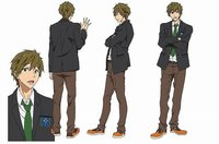 Tachibana Makoto © Oji Koji, Kyoto Animation Co., Ltd. / Iwatobi High School Swim Club