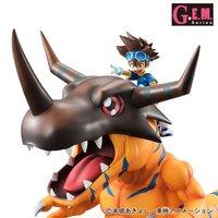 G.E.M. Series Digimon Adventure Greymon & Taichi Yagami