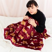 Nemu Nemu Animals Printed Half-Blanket Series