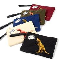 Misfits Dinosaur Clutch Bag