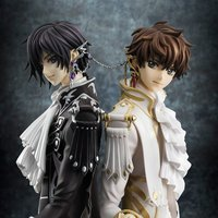 G.E.M. Series Code Geass: Lelouch of the Rebellion R2 Clamp Works in Lelouch & Suzaku Set