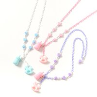milklim Baby Bottle & Rocking Horse Necklace