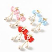 Lolii Pearl & Ribbon Lovely Earrings