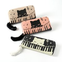 Piano Pooh-chan Long Wallet