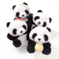 Marukoro Panda Aka-chan Plush Collection (Ball Chain)