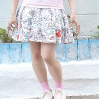 ACDC RAG Cake Flared Skirt
