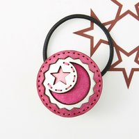 OJAGADESIGN Candy Collection Pink Capella Hair Tie