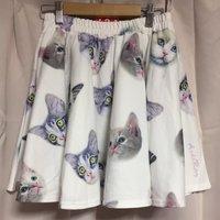 ACDC RAG Cat Flared Skirt