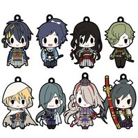 D4 Series Touken Ranbu -ONLINE- Rubber Strap Collection Vol. 2 Box