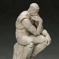 figma The Table Museum: The Thinker - Plaster Ver. (Re-run)
