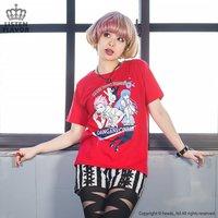 LISTEN FLAVOR Danganronpa Leon Kuwata x Sayaka Maizono T-Shirt